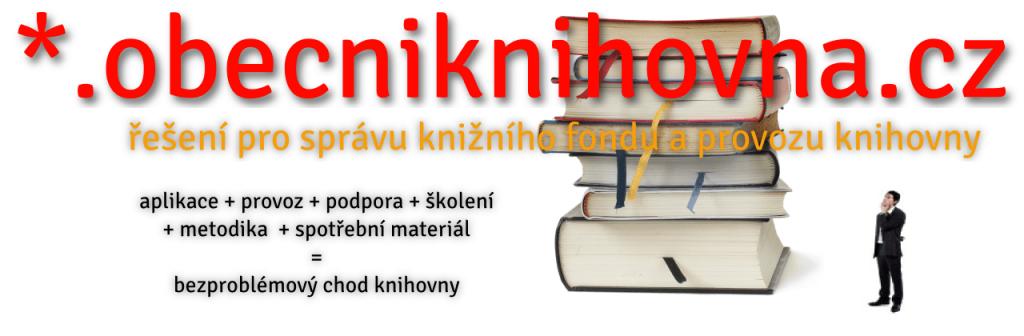 obecniknihovna.cz - řešení pro správu knižního fondu
